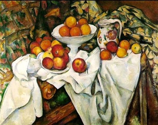 Поль Сезанн - Яблоки и апельсины