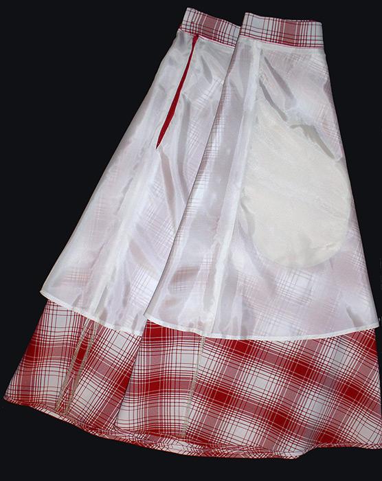 283Как сшить юбку из жакета