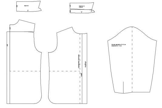 7a6becf355d521f Инструкция как построить выкройку классической сорочки для мальчика ростом  от 122 до 170 см.
