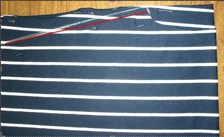 7bdf6e5b843 Вношу изменения для полочки по плечевому шву
