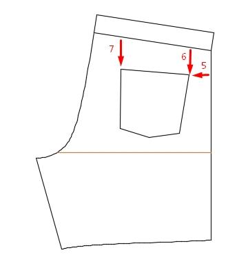 Как построить сетку для выкройки фото 323