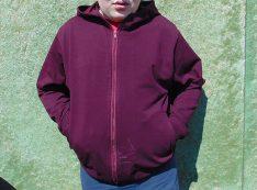 e675813bc57 Здесь можно скачать выкройку детской трикотажной куртки с капюшоном на  молнии